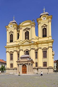 Roman Catholic Cathedral of Timisoara, Timisoara, Banat, Romania, Europe