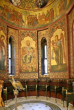 Episcopal church or abbey, Bisterica Manastiri, Curtea de Arges, Wallachia region, Romania, Europe