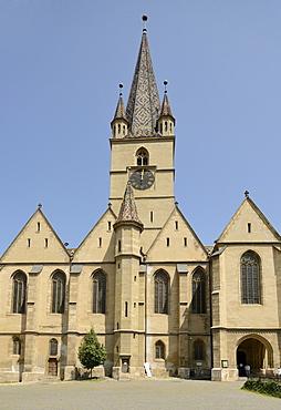 Protestant City Church, Sibiu, Romania, Europe