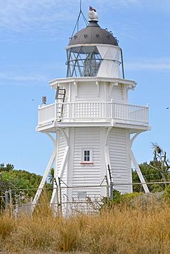 Lighthouse near Moeraki, East Coast, South Island, New Zealand