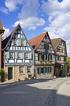 Birthplace of Friedrich Schiller, Marbach am Neckar, Neckar Valley, Baden-Wuerttemberg, Germany, Europe