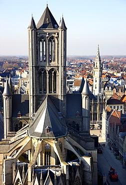 Saint Nicholas' Church, Sint-Niklaaskerk church, historic district, Ghent, East Flanders, Belgium, Europe