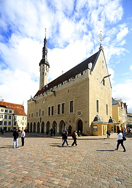 Town Hall, Tallinn, Estonia, Baltic States, Europe