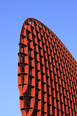 Modern sculpture in steel, rust, Navy Museum, Den Helder, Noord Holland, Holland, Netherlands, Europe