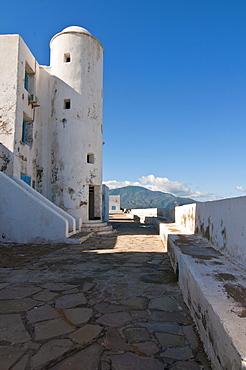 Beach resort Corne d'Or, former stronghold, Tipasa, Algeria, Africa