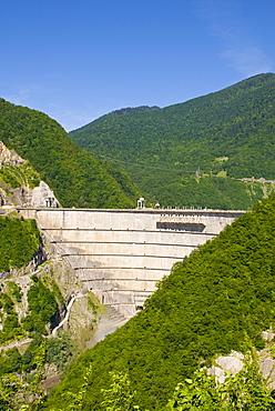 Inguri dam between Georgia and Abkhazia, Middle East