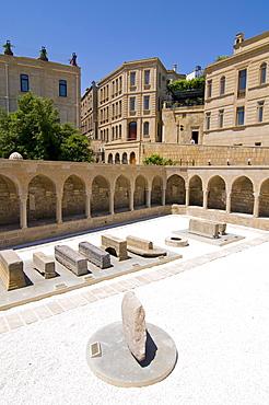 Historic caravansary near the Maiden Tower, Baku, Azerbaijan, Middle East