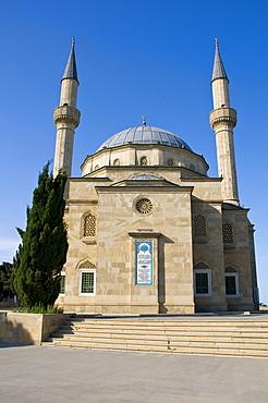 Mosque with minarets, Baku, Azerbaijan, Middle East