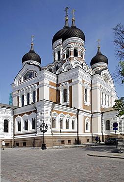 Alexander Nevsky Cathedral, Tallinn, Estonia, Baltic States, Europe