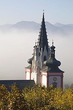 Mariazell Basilica, Basilica of the Birth of the Virgin Mary, Mariazell, Styria, Austria, Europe