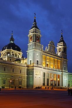 Santa Maria la Real de La Almudena Cathedral, Madrid, Spain, Europe