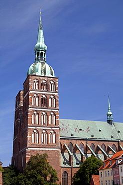 St. Nikolaikirche church, Stralsund, Unesco World Heritage Site, Mecklenburg-Western Pomerania, Germany, Europe