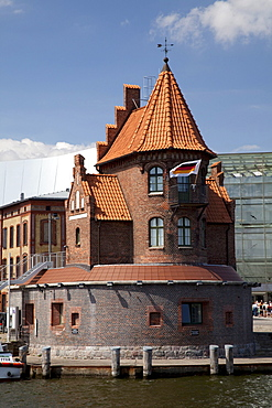 Port Authority builing, Stralsund, UNESCO World Heritage Site, Mecklenburg-Western Pomerania, Germany, Europe