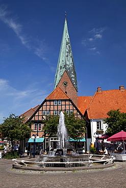 St. Michaeliskirche, St Michael's Church, Eutin, Naturpark Holsteinische Schweiz, nature park, Schleswig-Holstein, Germany, Europe