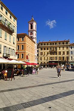 Place du Palais, Nice, Nizza, Cote d'Azur, Alpes Maritimes, Provence, France, Europe