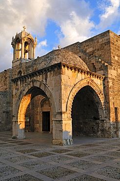 Historic Maronite church at Byblos, Unesco World Heritage Site, Jbail, Jbeil, Lebanon, Middle East, West Asia