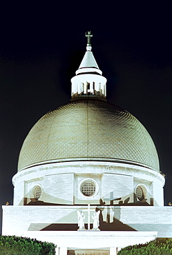 Dome of Saint Peter and Paul's basilica by Arnaldo Foschini with the collaboration of Tullio Rossi, Costantino Vetriani and Alfredo Energici, 1939 - 1955, EUR district, Rome, Latium, Italy, Europe