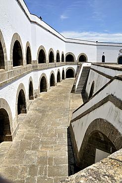 Historic fortress Fortaleza de Santa Cruz, Bahia de Guanabara Bay, Rio de Janeiro, Brazil, South America