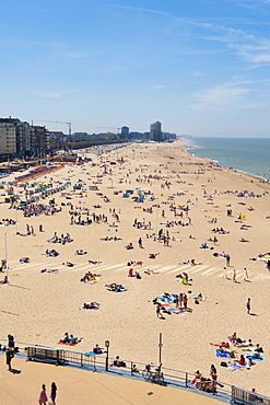 Ostend beach, Belgium, Europa