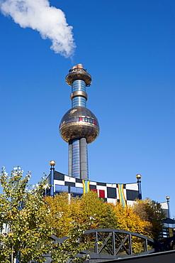 District Heating Plant Spittelau, Friedensreich Hundertwasser, Vienna, Austria, Europe, PublicGround