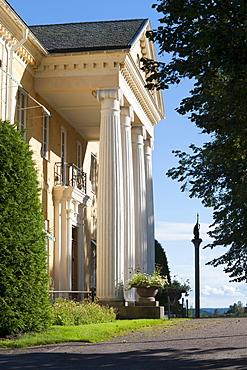 Manor house, Rottneros Park, Sunne, Vaermland, Sweden, Europe