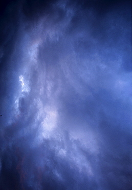 Veil of clouds, sky, background
