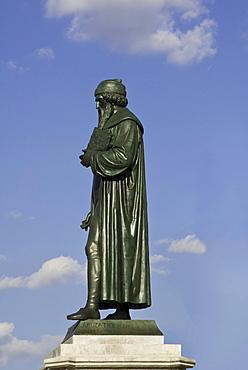 Monument of Gutenberg, Mainz, Rhineland-Palatinate, Germany, Europe