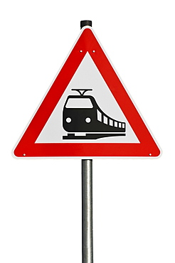 Traffic sign 151, danger sign, unguarded railway crossing