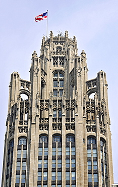 Tribune Tower, Chicago, Illinois, United States of America, USA