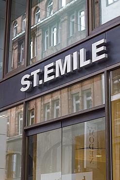 St. Emile, luxury shop, Neuer Wall, Hamburg, Germany, Europe