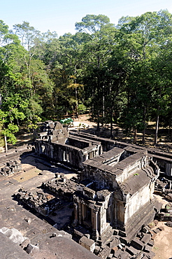 Library of the Ta Keo temple, Angkor, UNESCO World Heritage Site, Siem Reap, Cambodia, Southeast Asia, Asia
