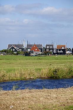 Marken fishing village, North Holland province, Netherlands, Europe