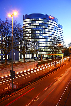 New headquarters of EON Ruhrgas AG, almost 2, 000 employees started working in the new administrative building in October 2010, Essen, North Rhine-Westphalia, Germany, Europe