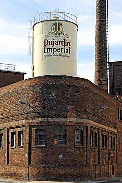 Former Dujardin distillery, Uerdingen district, Krefeld, North Rhine-Westphalia, Germany, Europe