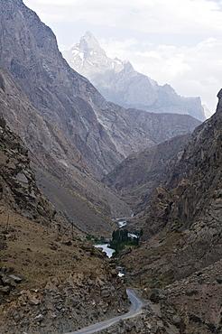 Bare mountain landscape, Iskanderkul, Fan mountains, Tajikistan, Central Asia