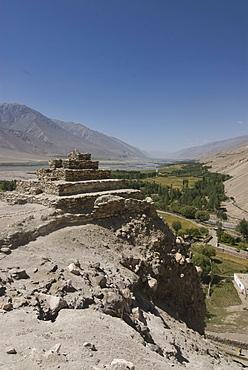 Sacred Buddhist pilgrim site, Vrang, Wakhan Corridor, Tajikistan, Central Asia
