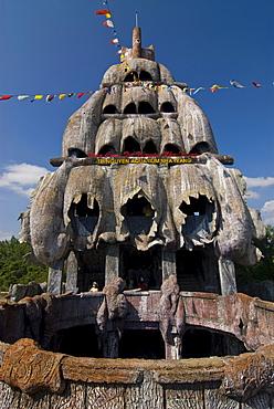 Stone boat as aquarium, Nha Trang Islands, Vietnam, Asia