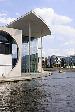 Paul Loebe-Haus, Federal Parliament building, Spreebogen, Spree river, Berlin, Germany, Europe
