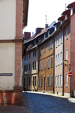 Judengasse street, Worms, Rhineland-Palatinate, Germany, Europe