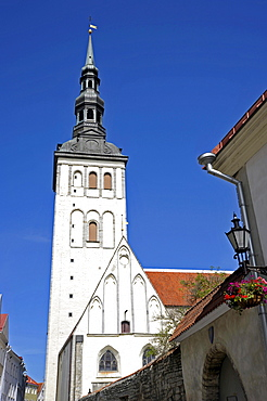 Historic town centre, St. Nicholas Church, Tallinn, formerly Reval, Estonia, Baltic States, Northern Europe