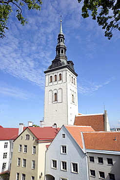St. Nicholas Church, historic town centre of the capital city, Tallinn, Estonia, Baltic States, Northern Europe