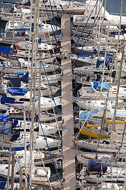 Marina of San Sebastian de La Gomera, Canary Islands, Spain, Europe
