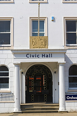 The Civic Hall, Rother Street, Stratford-upon-Avon, Warwickshire, England, United Kingdom, Europe