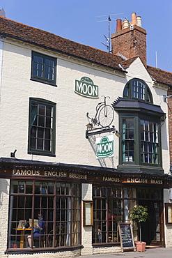 Edward Moon Brasserie, Chapel Street, Stratford-upon-Avon, Warwickshire, England, United Kingdom, Europe