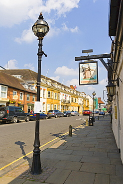 Stratford-upon-Avon District Council, Elizabeth House and Windmill Inn, Church Street, Stratford-upon-Avon, Warwickshire, England, United Kingdom, Europe