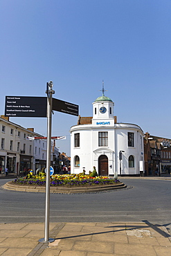 Barclays Bank building, Market Cross, Bridge Street, Stratford-upon-Avon, Warwickshire, England, United Kingdom, Europe