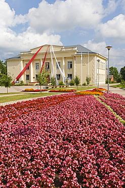 Balvu Pilsetas Kulturas and Atputas Centrs, Balvi Town Culture and Recreational Centre, Brivibas iela, Brivibas Street, Balvi, Latgale, Latvia, Northern Europe