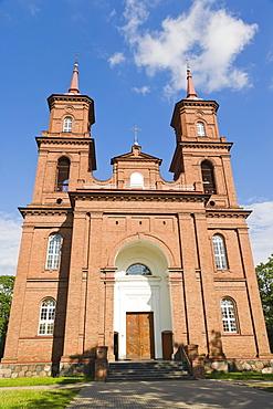 Panevezio Sv apastalu Petro ir Povilo baznycia, Church of apostles St Peter and St Paul, Panevezys, Lithuania, Northern Europe
