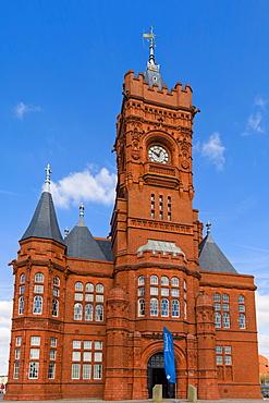 The Pierhead Building, Cardiff Bay, Cardiff, Caerdydd, Wales, United Kingdom, Europe