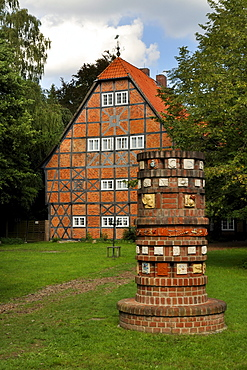 Former Gut Sunder manor house, district of Celle, Lower Saxony, Germany, Europe